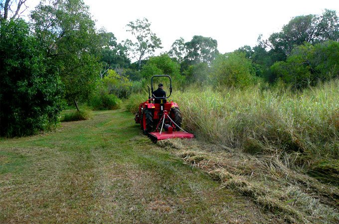 Slashers are primarily suited to cutting taller, heavier grass. For bush blocks, check out the AGMAX heavy duty slasher.