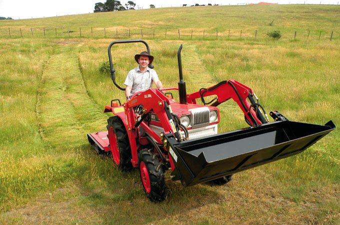 Slashing at the right time will help establish frost tolerant grasses.