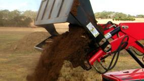 Front End Loaders With 4-in-1 Bucket