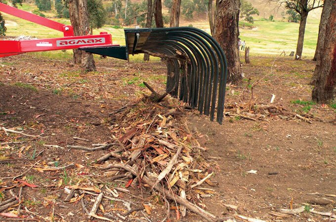 Clear debris prior to slashing or mowing.