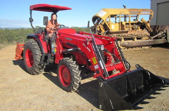 APOLLO 554 Tractor - 55hp QLD 2012.