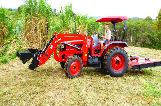 APOLLO 454 with 4-in-1 Loader QLD