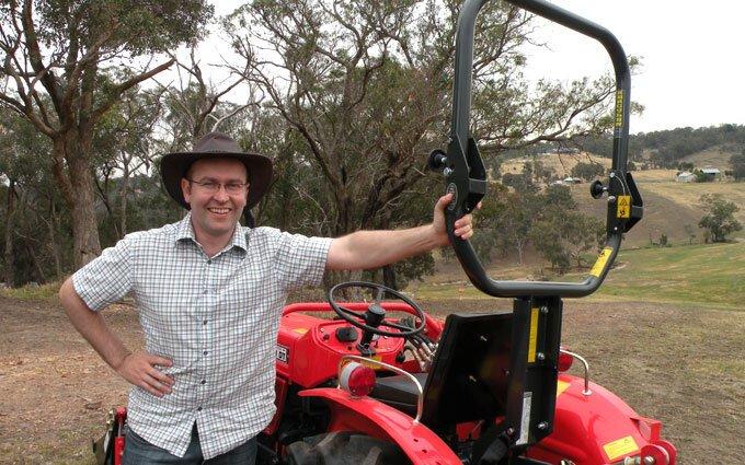 Hercules Tractor ROPS - Rollover Protection | SOTA Tractors Australia