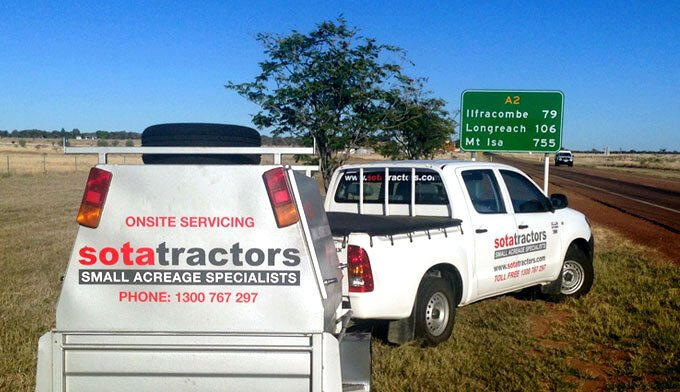 SOTA Tractors' service is the best in the business.