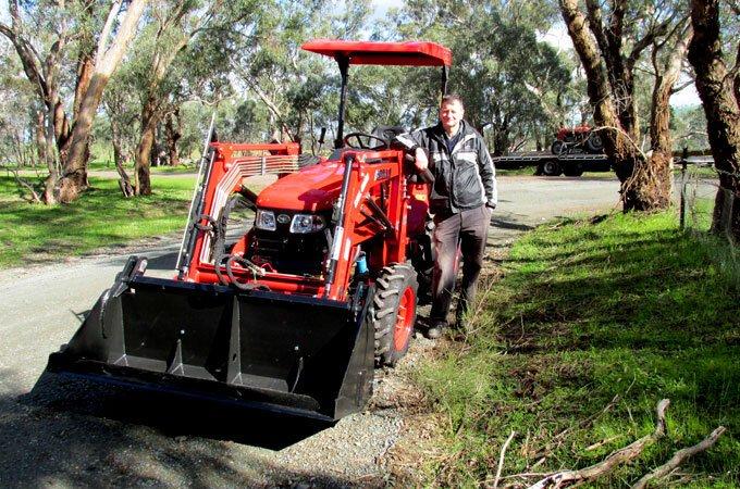 APOLLO 454 45hp Tractor