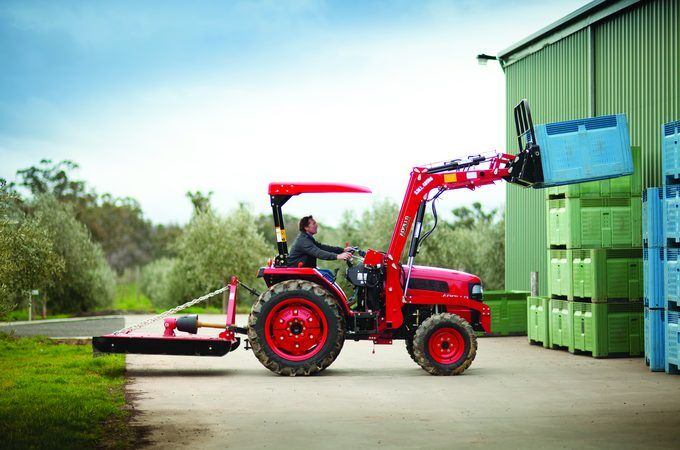 45hp tractor with Loader APOLLO