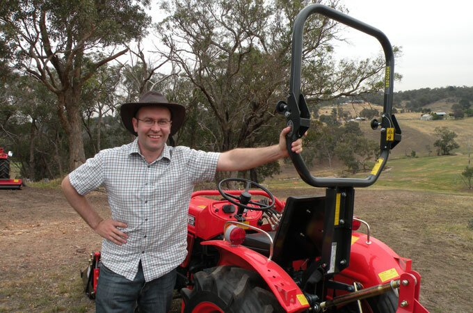 Hercules ROPS for tractor safety