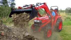 Kubota Tractor L4508DT