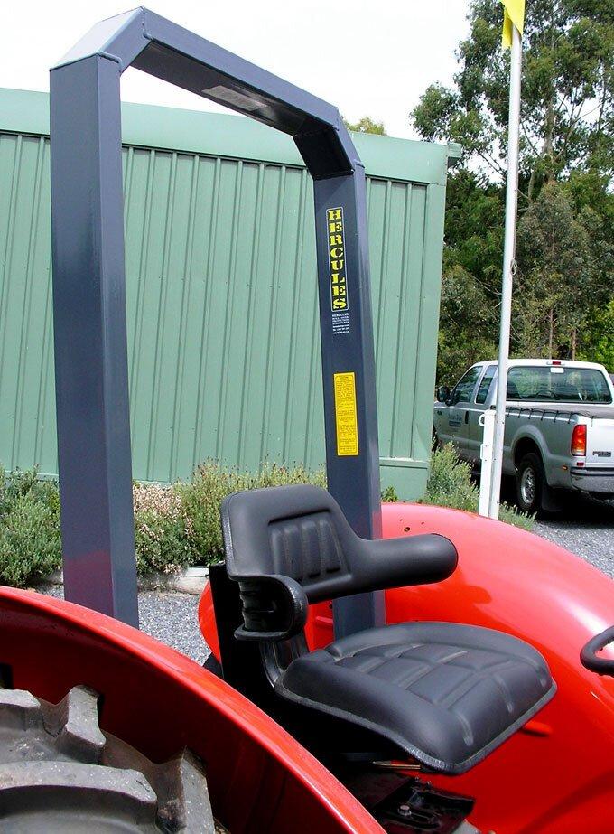 Tractor Safety Hercules ROPS Massey Ferguson