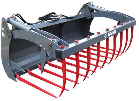 MFSG1800 Euro hitch silage grip (type Q).
