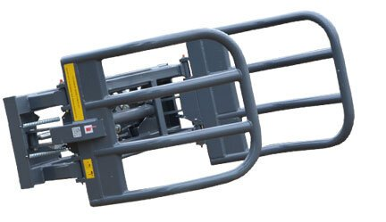 MFBG900 Euro hitch bale grab - heavy duty.