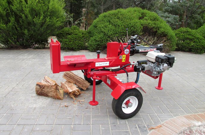 Ready to work! The WX540 wood splitter.