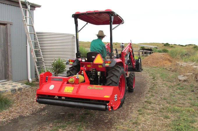 APOLLO 45hp with Del Morino Flail Mower