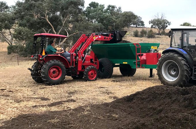 APOLLO tractor 55hp delivery to NSW, with Farmtrac 9120DTn.