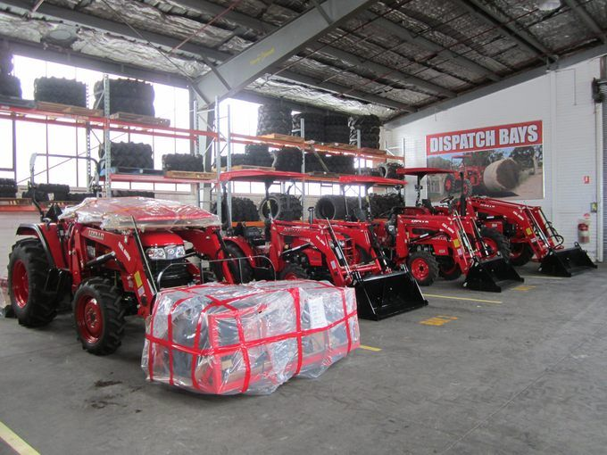 APOLLO tractors, ready for delivery
