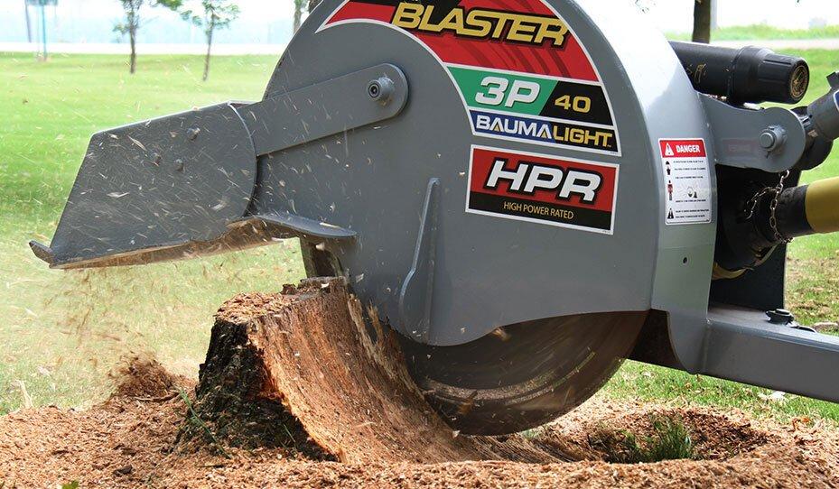 3P40 stump blaster.