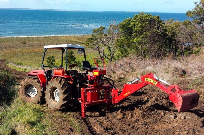Delmorino RES30 Del Morino. Tractor backhoe - Linkage backhoes