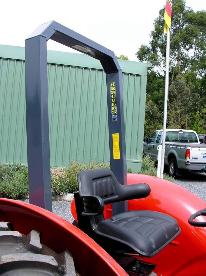 Massey Ferguson tractor ROPS.