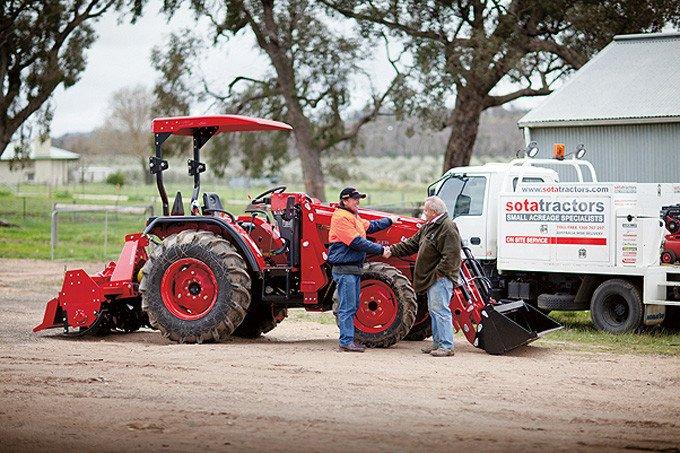 Contact SOTA Tractors - Onsite-Tractor-Service