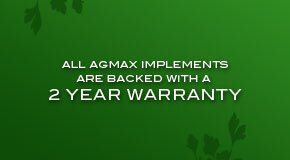 AGMAX 2 Year Factory Warranty