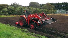 Kubota L2402DT Laurie, Rotary Hoe